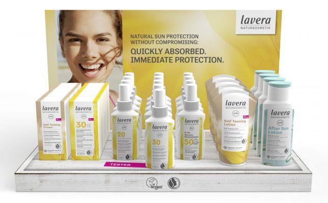βιολογικό αντηλιακό lavera, βιολογική αντηλιακή προστασία