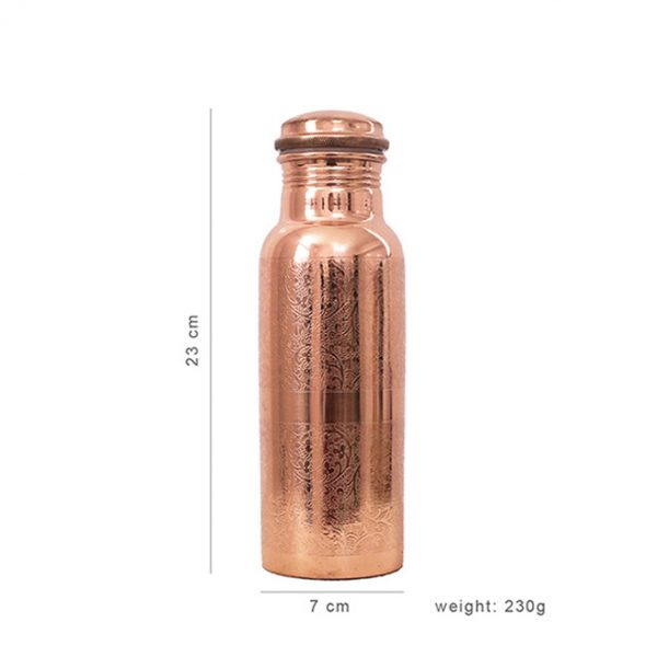 290621_Copper_Bottle_Engraved_600ml_dimensions