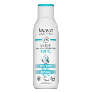body lotion lavera express with bio jojoba oil & bio aloe